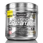 Kreatin: Muscletech Essential Series Platinum 100% Creatine, 400g