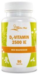 D-vitamin: Alpha Plus D3 Vitamin 2500 IE