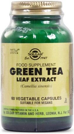 Fettförbrännare: Solgar Green Tea Leaf Extract