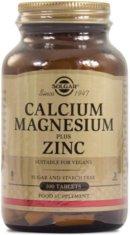 Kalciumtabletter: Solgar Calcium Magnesium Plus Zinc