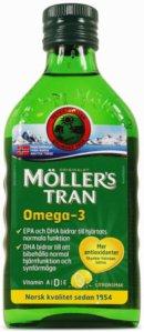 Fiskleverolja/Omega-3: Möllers Tran