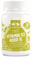 D-vitamin: Vitamin D3 4000 IE