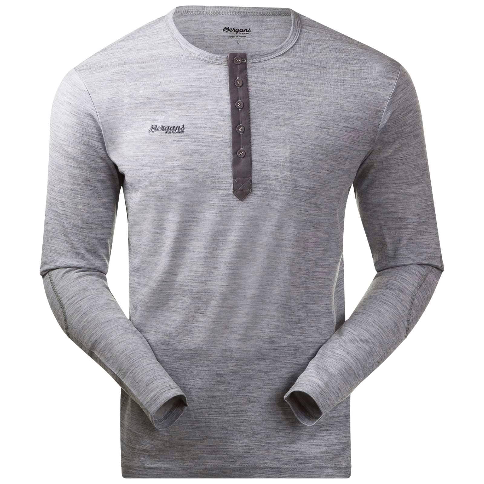 Henley Wool Shirt, Bergans