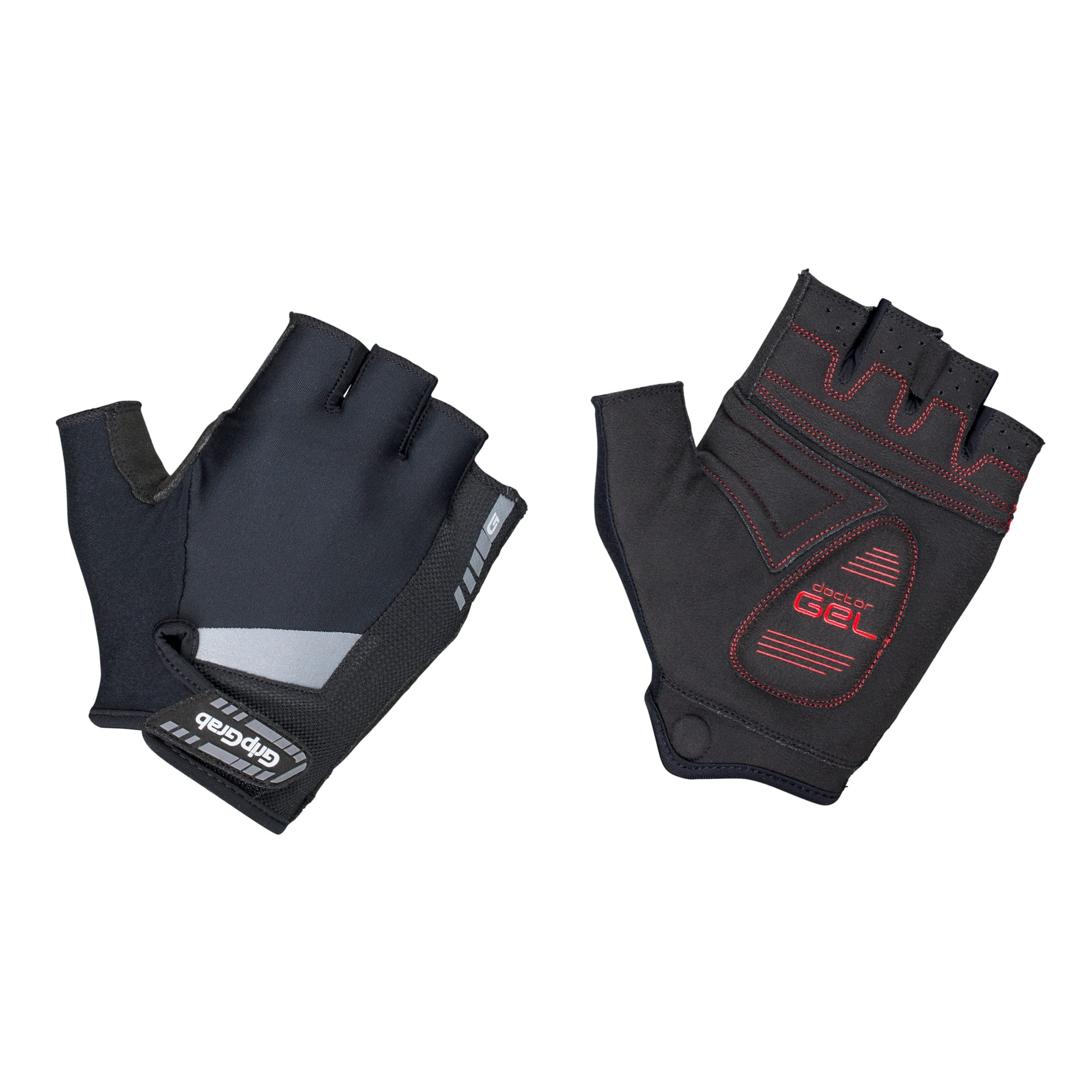 SuperGel Padded Short Finger Glove, GripGrab