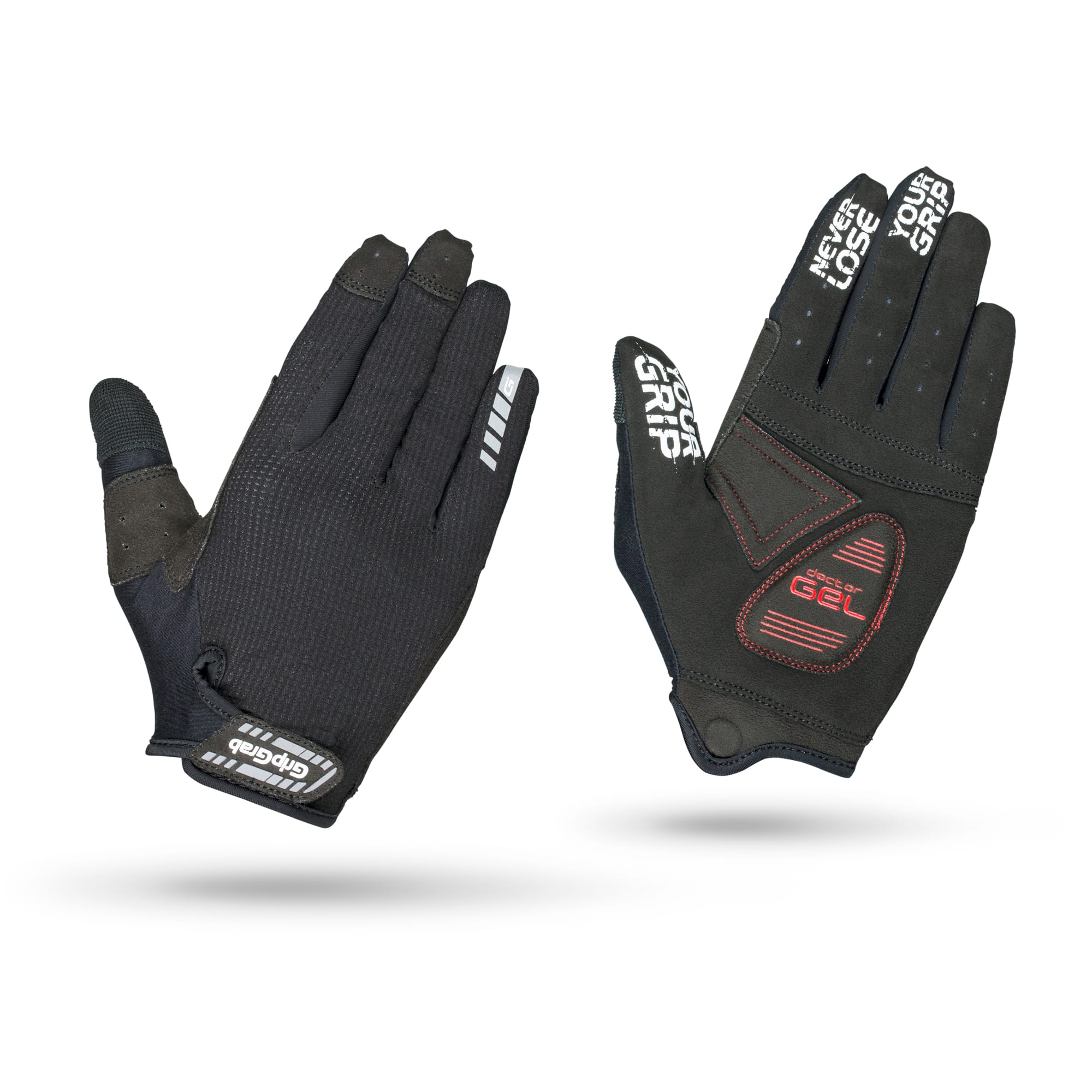 SuperGel XC Touchscreen Full Finger Glove, GripGrab
