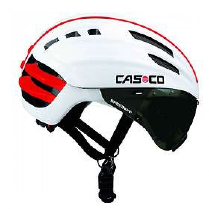 Casco SPEEDster White med visir