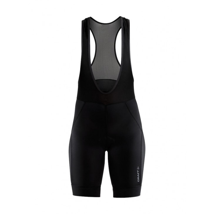 Craft Rise Bib Shorts W Black